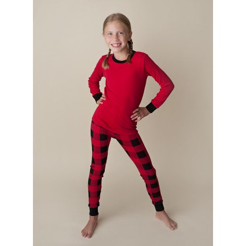 Buffalo Plaid Christmas Pajamas - PREORDER