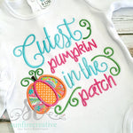 Cutest Pumpkin In the Patch Onesie or Shirt - Sunfire Creative Baby Boutique