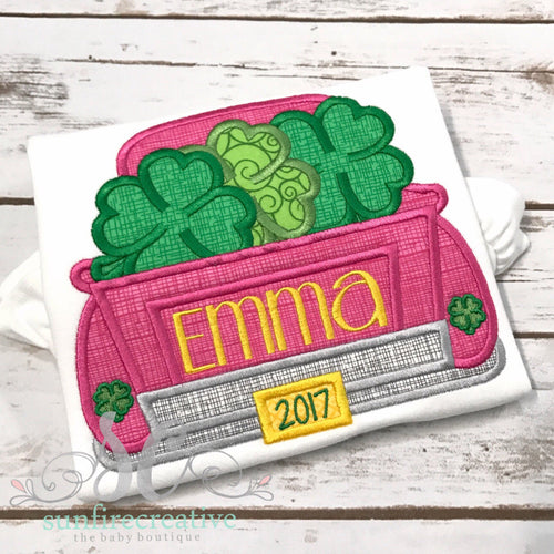 Girl St Patricks Day Shirt - St Pattys Day Shirt for Girl
