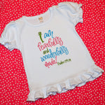Christian Shirt - I am Fearfully and Wonderfully Made Shirt - Sunfire Creative Baby Boutique