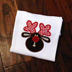 Rudolph Christmas Shirt - Girls Christmas Shirt