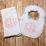 Baby Bib - Burp Cloth - Sunfire Creative Baby Boutique