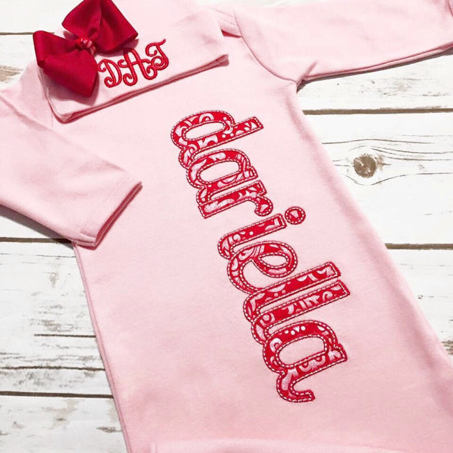 Valentine Outfit for Girl - Newborn Coming Home Outfit