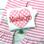 Girls Valentine Shirt - Valentine Party Outfit