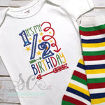Half Birthday Outfit - Baby Girl Half Birthday Bodysuit