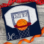 Basketball Goal Shirt - Sunfire Creative Baby Boutique