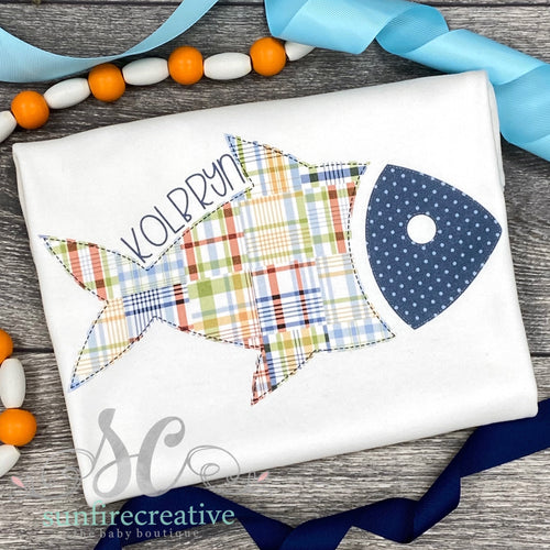 Personalized Fish Shirt - DTG