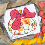 Girls Pumpkin with Bow