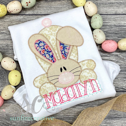 Girl Easter Bunny Shirt