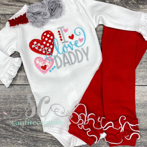 Baby Girl Valentine Outfit - Valentine Party Outfit
