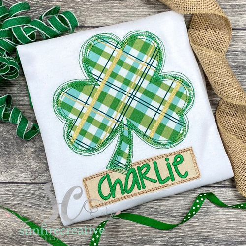 Clover Shirt - St Patricks Day Shirt