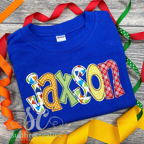 Personalized Royal Blue Shirt or Onesie