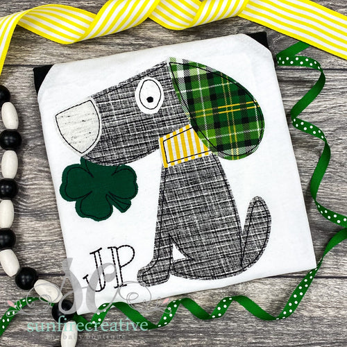 Shamrock Puppy Shirt