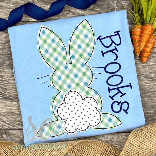 Baby Blue Bunny Shirt