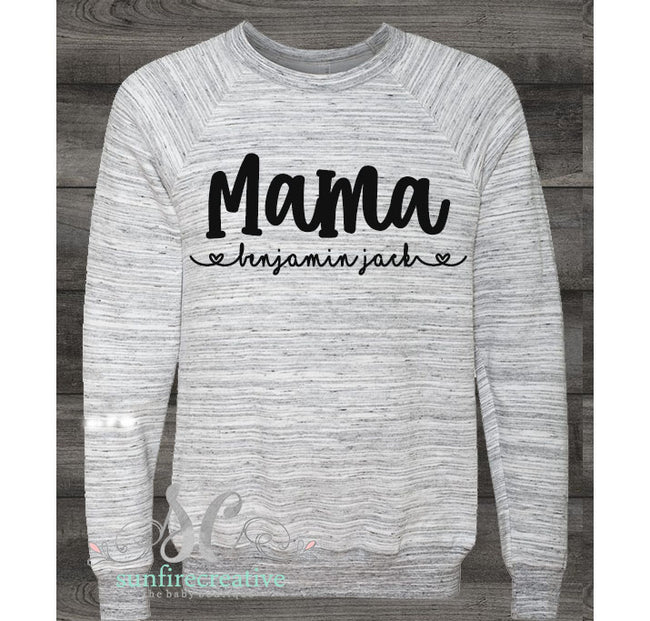 Custom Sweatshirt - Customize Your Shirt - DTG - Sunfire Creative Baby Boutique