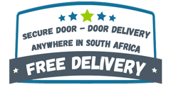 Free Delivery anywhere in South Africa