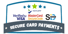 Secure Payments with paygate, visa and mastercard