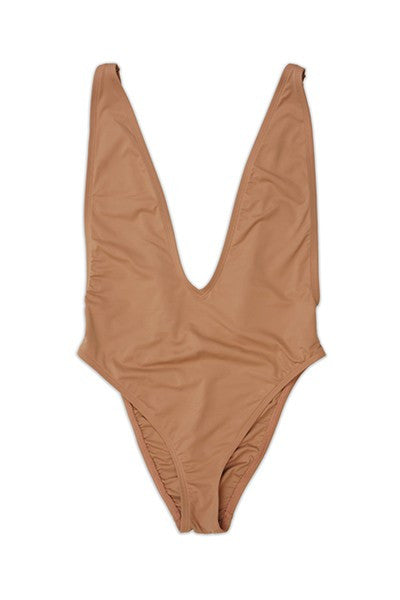 Rio One Piece -Burnt Orange & Rose Pink