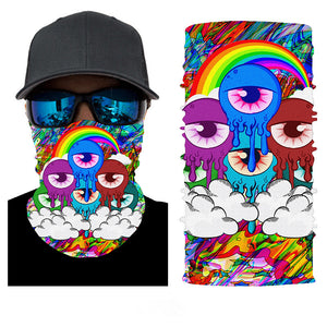 Rainbow Eyes Bandana