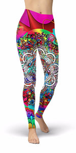 Acid Mandala Leggings