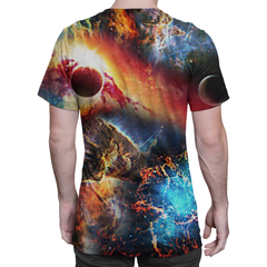 Galaxy On Fire Shirt