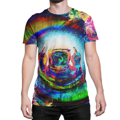Psychedelic Finger To The Sky T-shirt