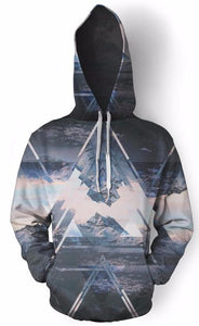 Mountain Polyscape Hoodie
