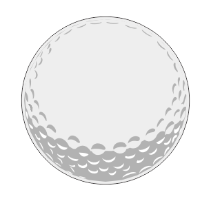 Golf Ball Yard Sign Blank Sponsor 18 Inch Starting at $2.99 FREE SHIPPING