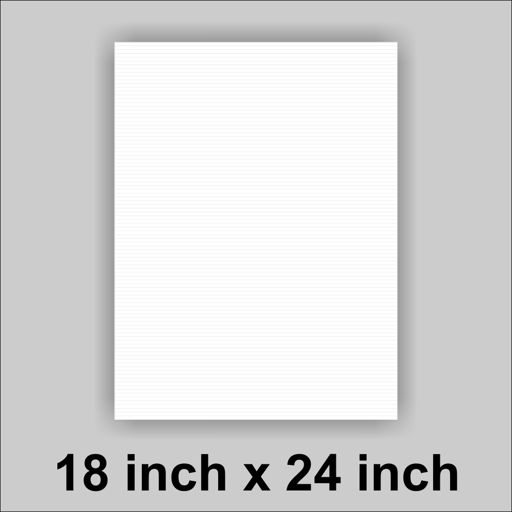 18x24 White Corrugated Plastic Yard Sign With you logo or Message