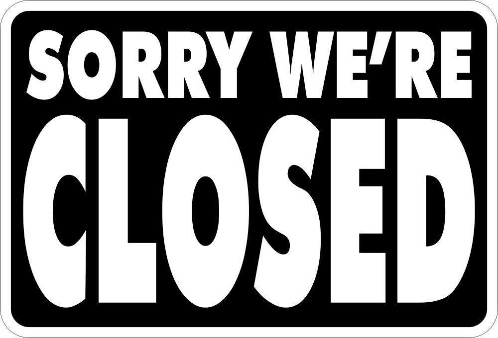 Open Closed Sign Large Free Shipping Sign Screen Yard