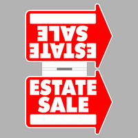 Super Heavy Duty Estate Sale Sign