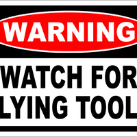 Watch for Flying tools 8x12