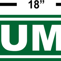TRUMP TRAIN Street Sign Indoor/Outdoor