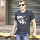 Local Revere Fort Worth Funky Town Texas Locales Vintage Shirt Black Mens