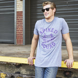 Local Revere Fort Worth The Spiked Squad Horned Frogs TCU Texas Christian University Texas Football Sport Vintage Shirt Grey Mens