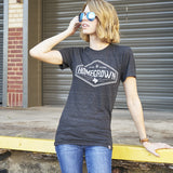 Local Revere Homegrown Home Grown Texas Locales Vintage Shirt Black Womens