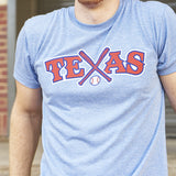 Local Revere Texas Rangers Texas Baseball Never Ever Quit Sport Arlington Vintage Shirt Blue Unisex