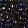4mm Round Fire Polish Garnet Zarit