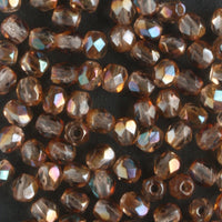3mm Round Fire Polish Amethyst Celsian