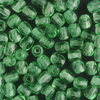 3mm Round Fire Polish Green