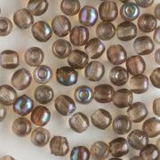 3mm Druk Smoked Topaz AB