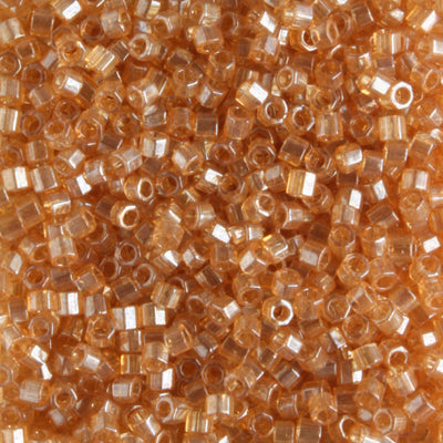 DBH0101 Transparent Luster Light Topaz Brown
