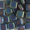 2 Hole Tile Iris Green Matte (CzechMates)