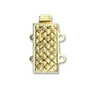 2 Strand Clasp Gold (Elegant Elements)