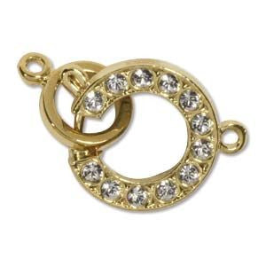 Spring Ring Clasp Gold (Elegant Elements)