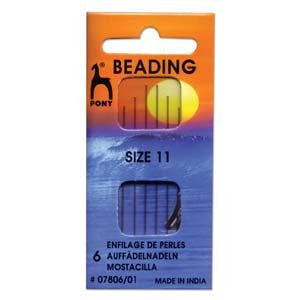 Pony Beading Needles Size 11