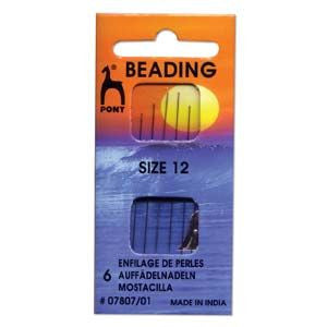 Pony Beading Needles Size 12
