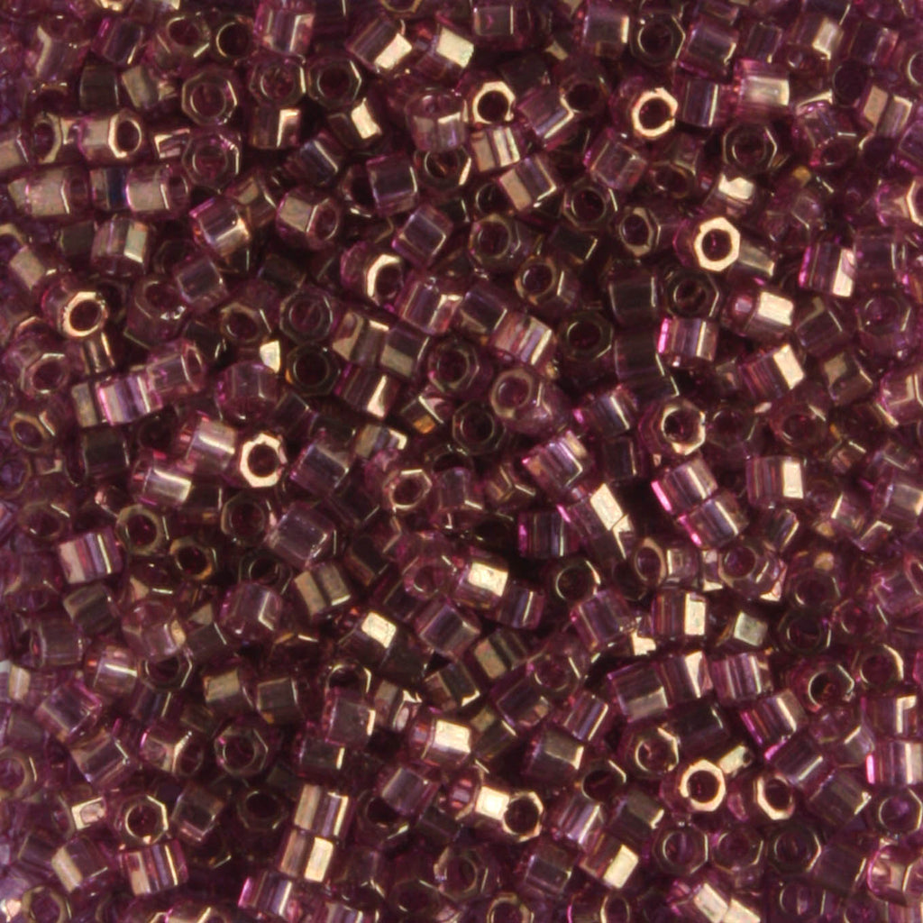 DBH0108 Transparent Gold Luster Amethyst