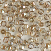2mm Round Firepolish Light Sapphire Celsian