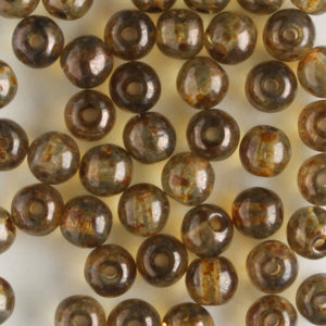 4mm Druk Lumi Light Brown